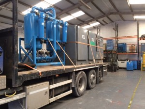 Another complete oilfree application Goes to Blue Chip Company on Hire